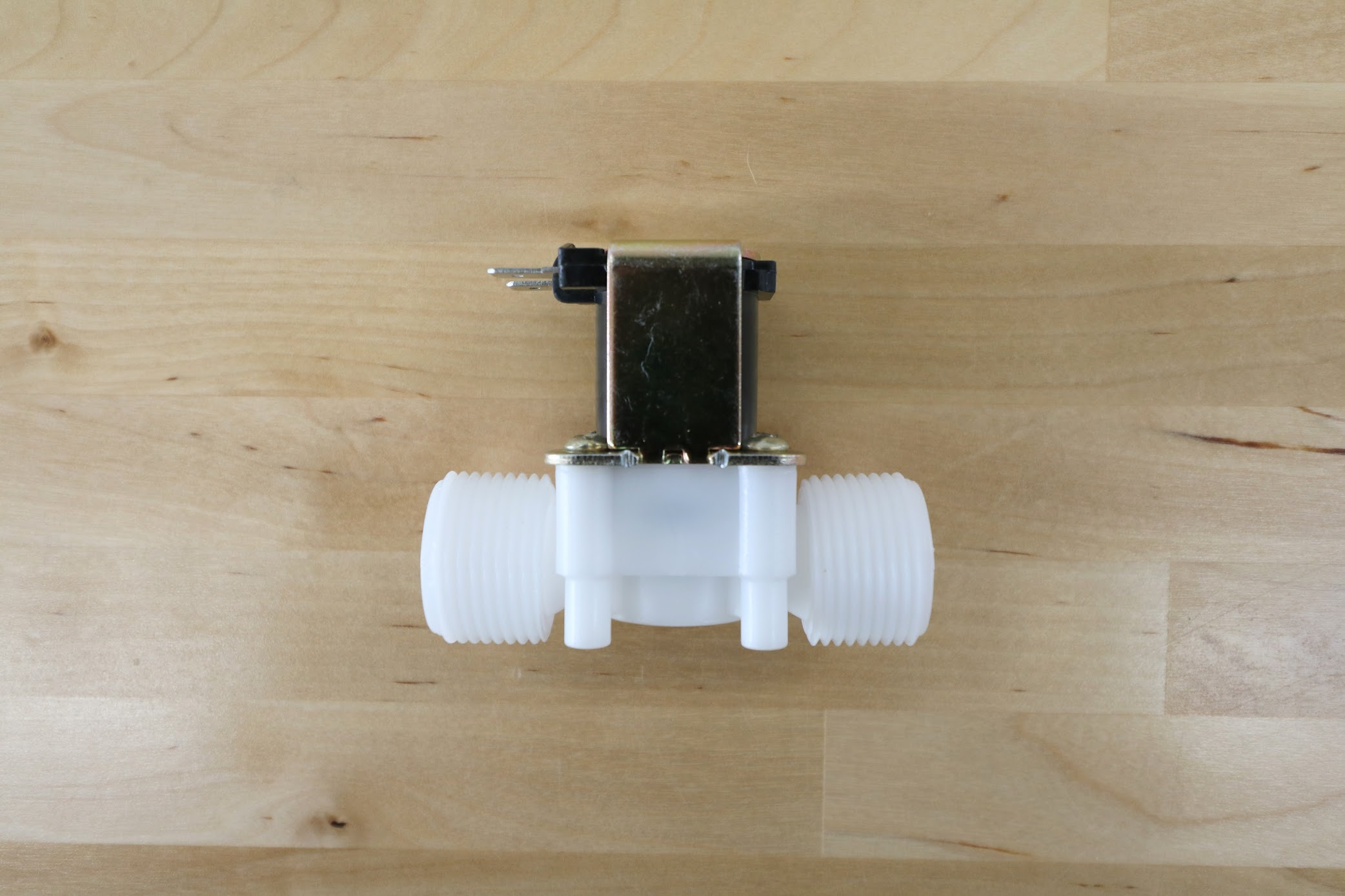 Solenoid Valve side view