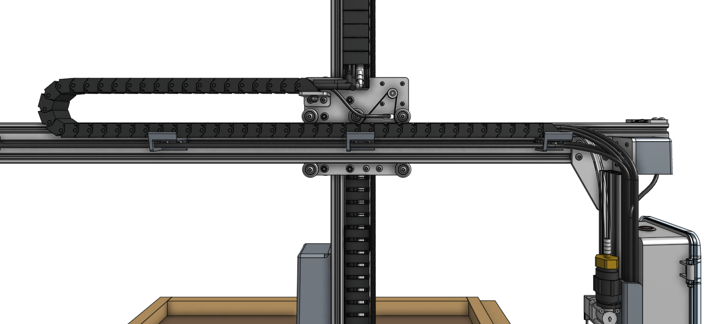 y axis cable carrier overview
